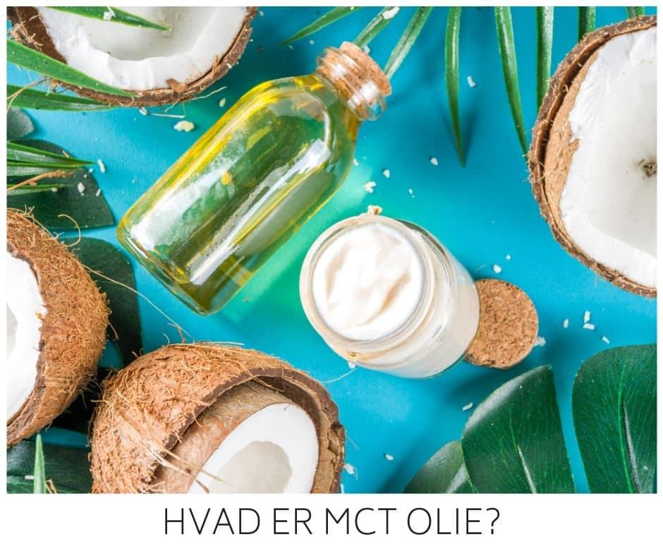 MCT olie - hvad er det og skal man bruge det på Keto og til at komme i ketose?