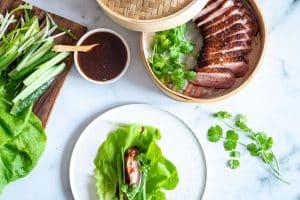 Peking and - opskrift på peking and med hjemmelavet sukkerfri hoisin