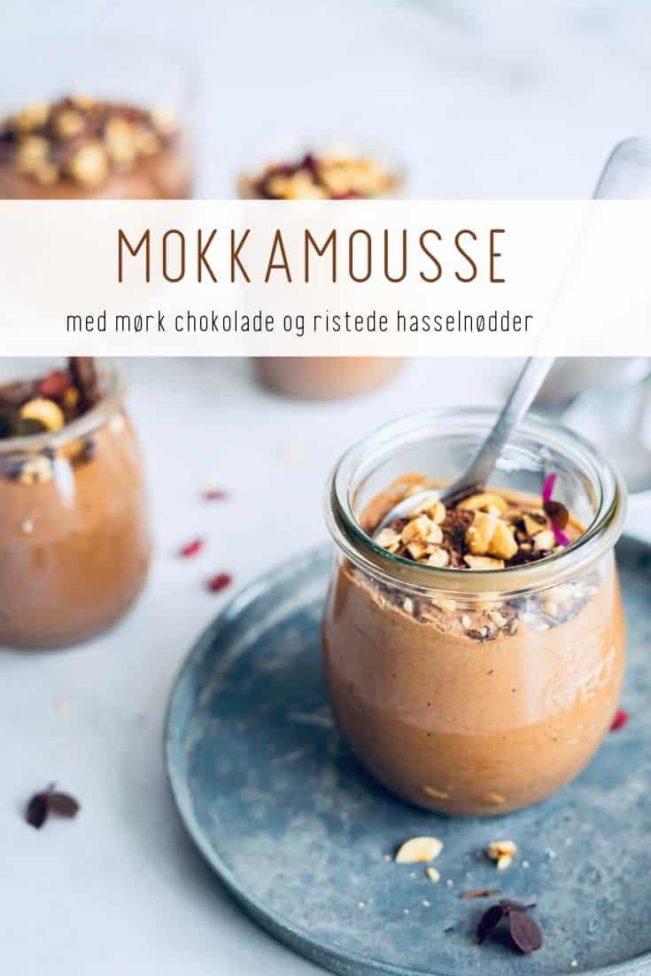 Mokkamousse - opskrift på mousse med kaffesmag