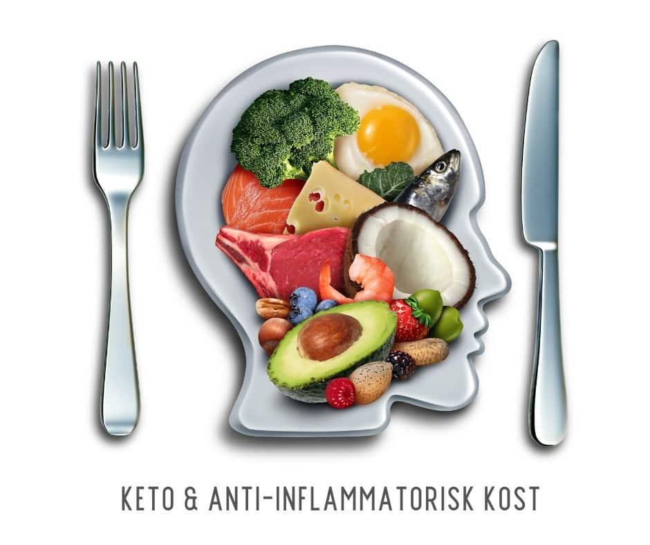 Antiinflammatorisk kost og Keto - Er Keto anti-inflammatorisk kost?