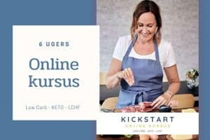KETO Kickstart - stort online kursus - Keto - Low Carb - LCHF - vægttabskursus