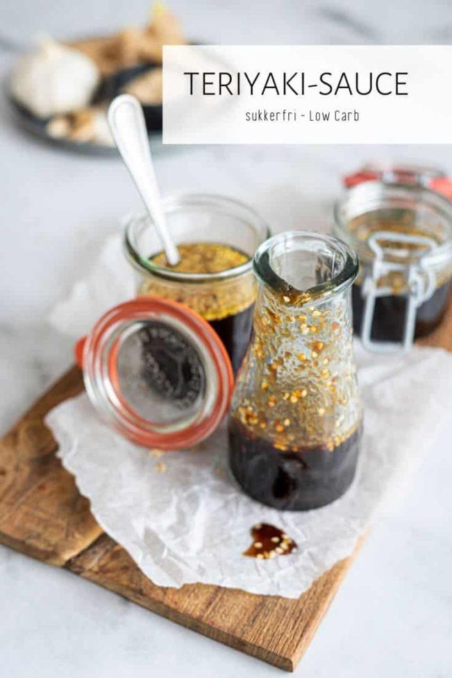 Teriyaki sovs uden sukker - opskrift på sukkerfri og Keto-venlig teriyaki sauce