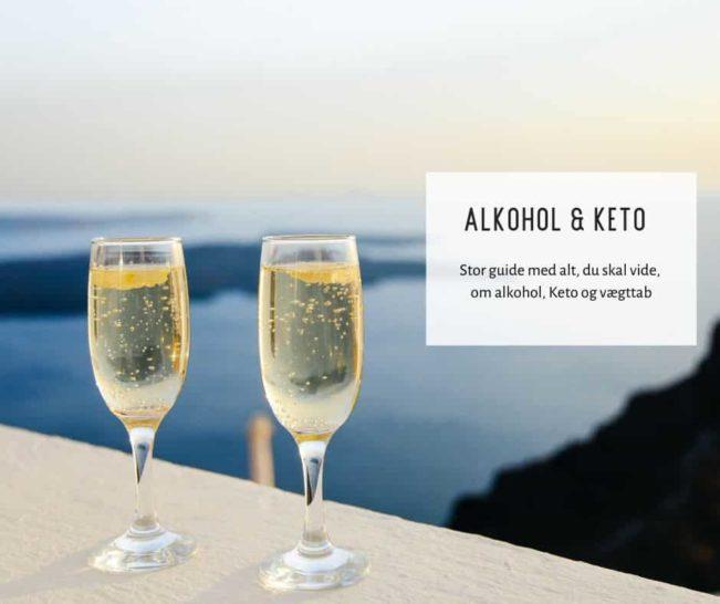 Keto og alkohol - kan man drikke alkohol på Keto? Stor guide til alkohol og Keto