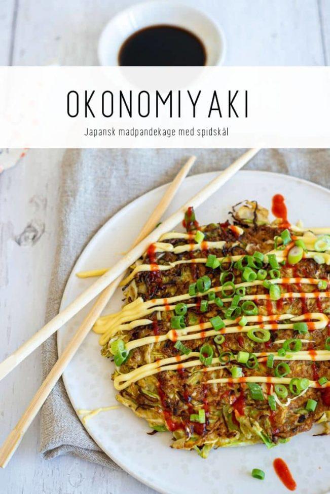 Okonomiyaki - opskrift på japansk madpandekage uden mel