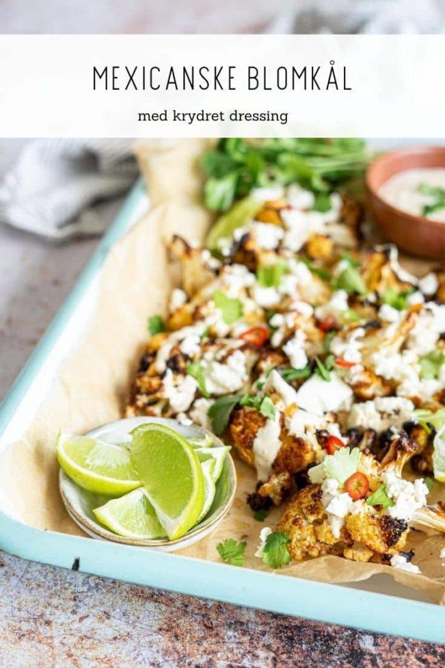 Mexicansk blomkål - virkelig lækker opskrift med blomkål