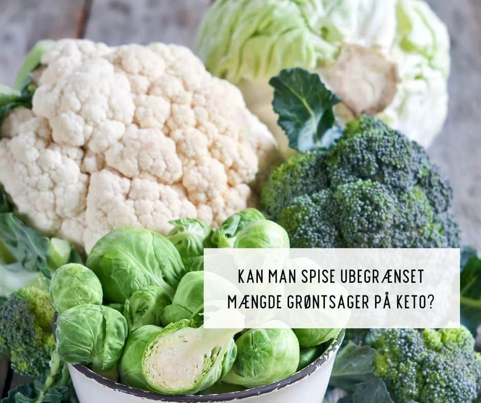 Grøntsager og Keto - Kan man spise alle de grøntsager, man vil på Keto?