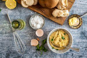 Svampemayonnaise - lækker dip til kød og grøntsager