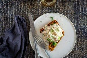 Lakserillette med edamamos - opskrift på dejlig forret eller frokost