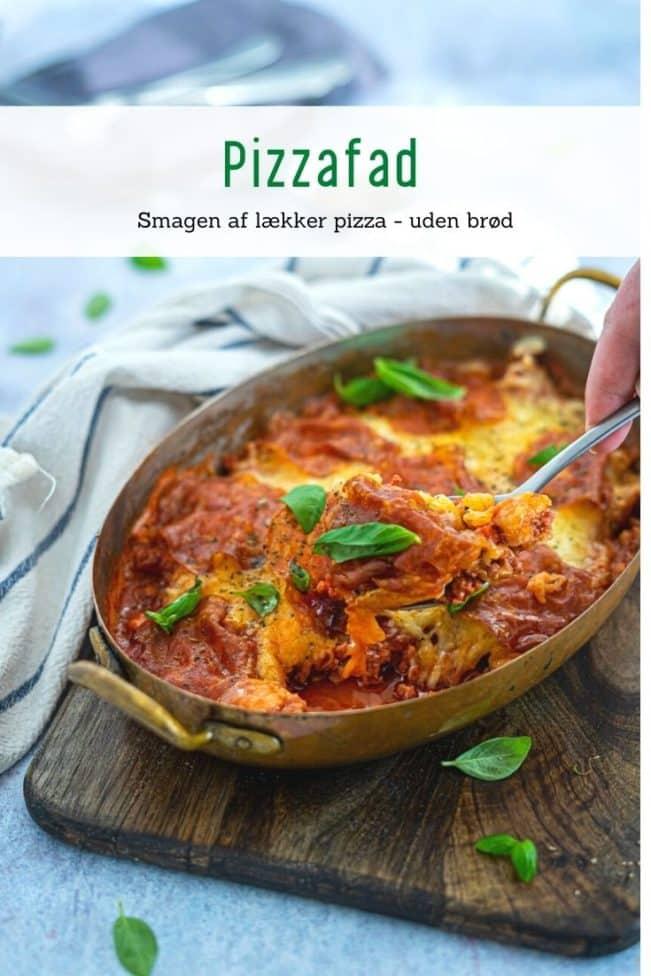 Pizzafad - lækker Keto opskrift med smag af pizza