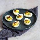 Fyldte æg - deviled eggs