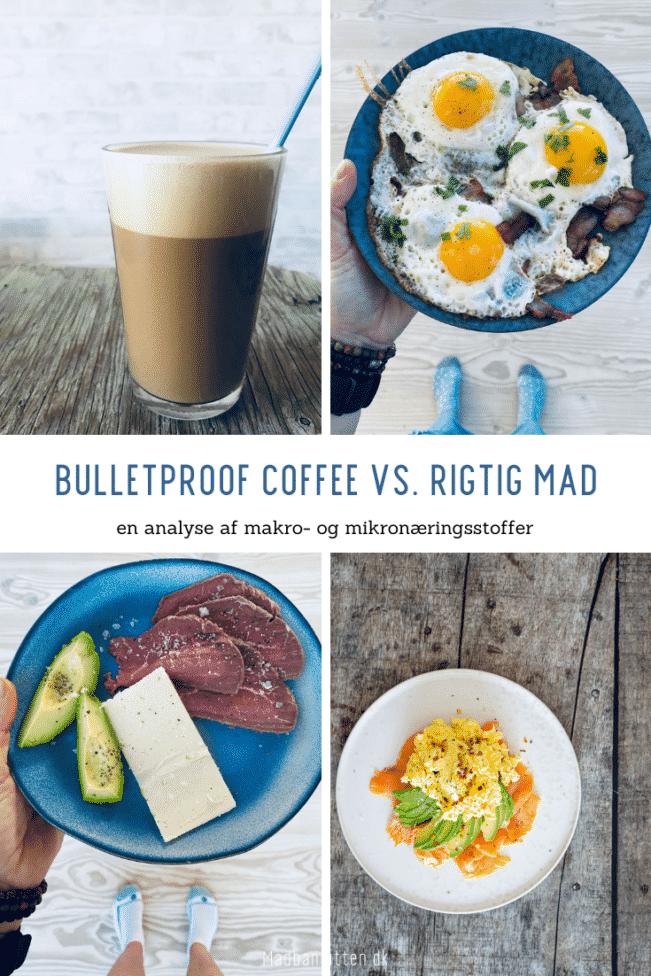 Analyse: Fedtkaffe vs. rigtig mad - Keto makronæringsstoffer og mikronæringsstoffer