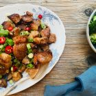 Kinesisk svinekød i BBQ marinade (Char siu) - lækker sukkerfri opskrift