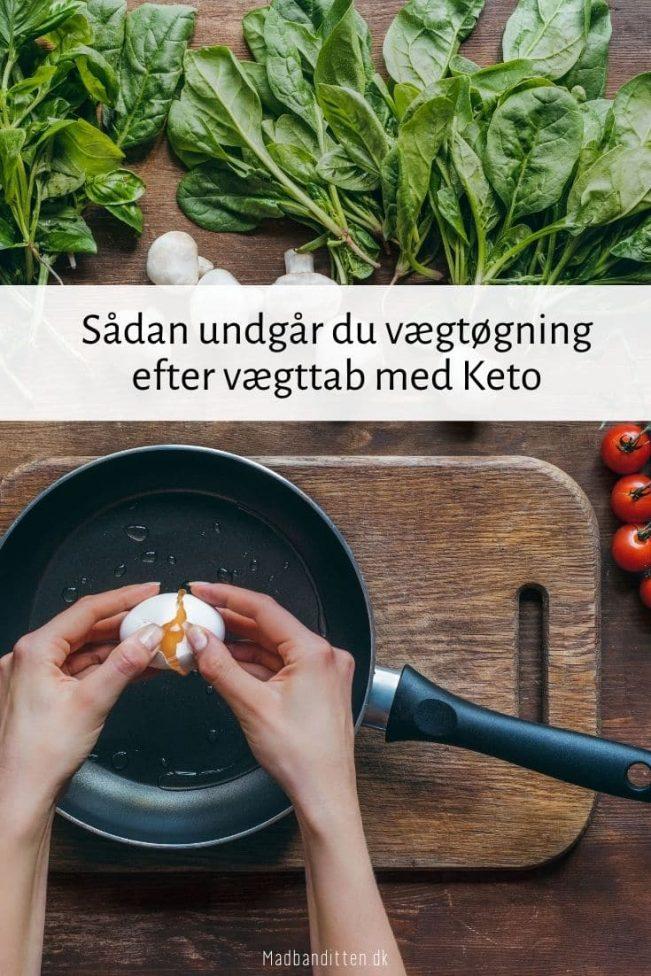 Vægtøgning efter vægttab med Keto