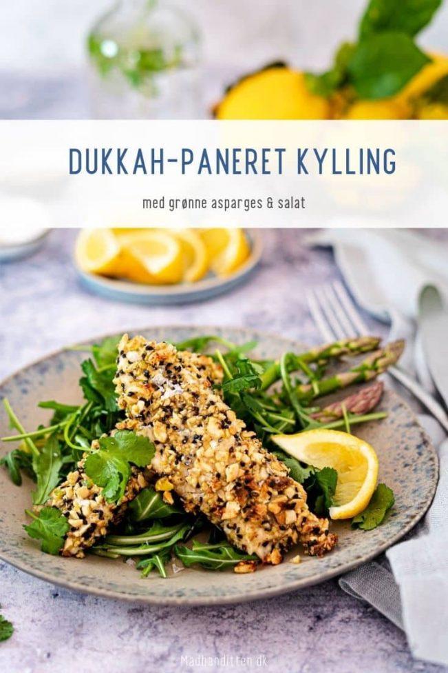 Dukkah-kylling - lækker opskrift på kylling paneret i dukkah