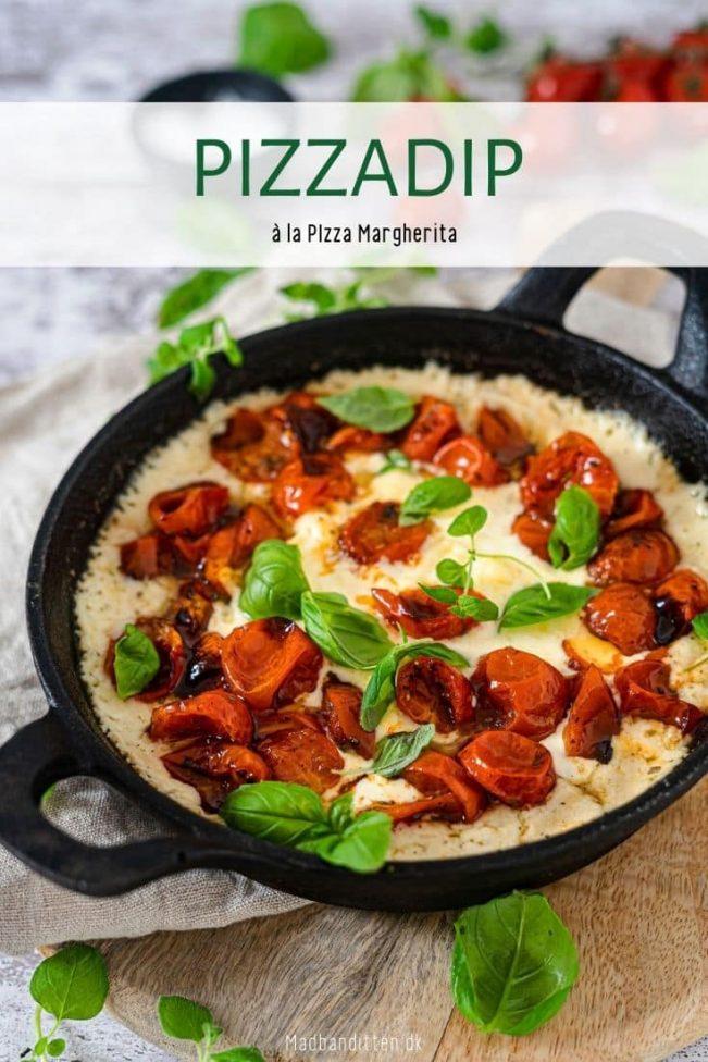 Pizzafad à la Pizza Margherita - Keto opskrift
