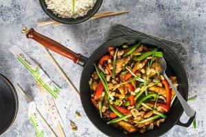 Kung Pao med kylling - lækker kinesisk opskrift