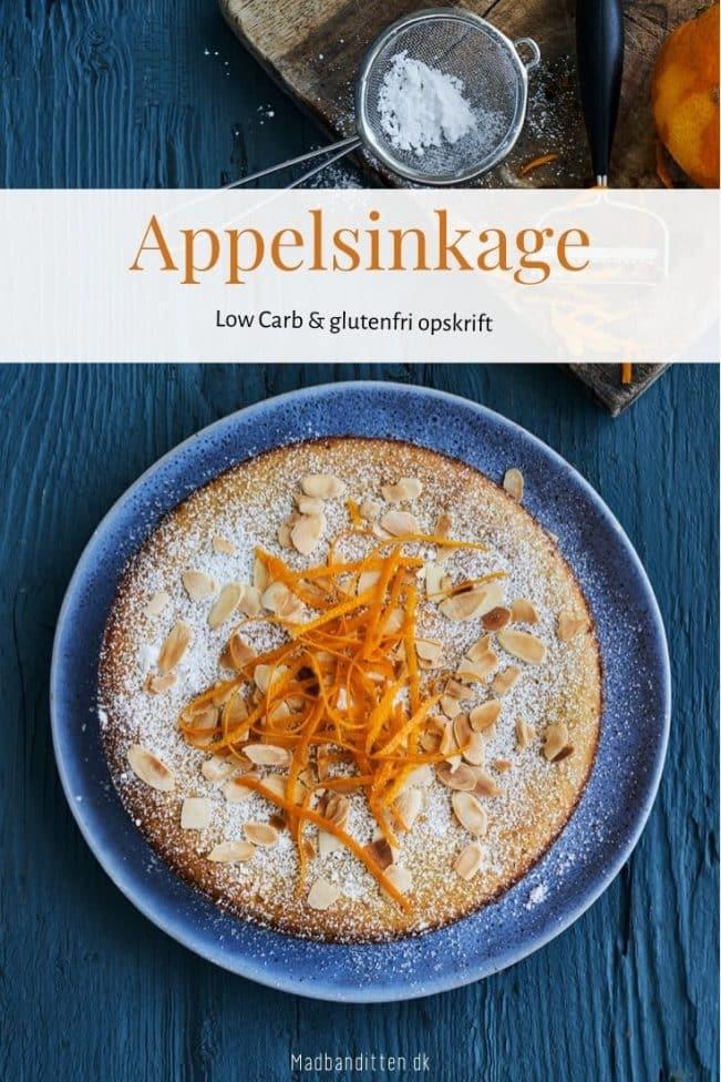 Appelsinkage - den bedste Low Carb kage